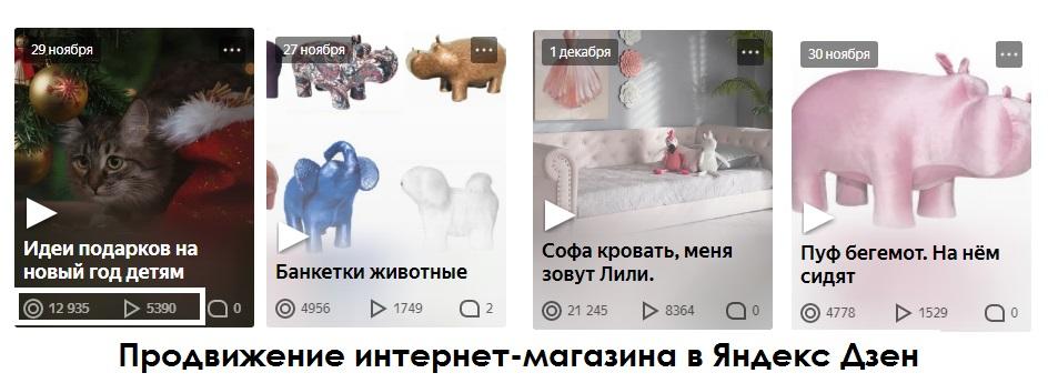 Видео интернет-магазина